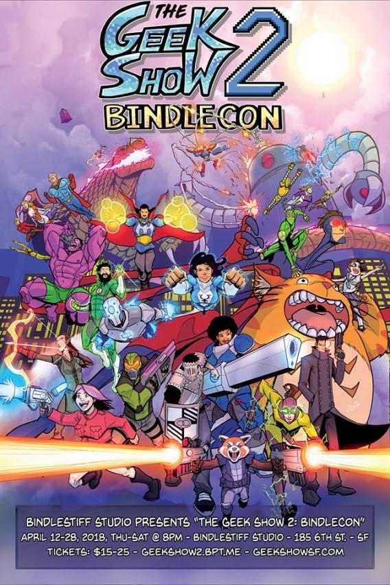 Geek_Show_2_Bindlecon_poster